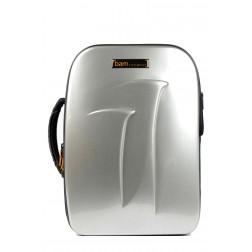 Bam New Trekking 3028SA Custodia per 2 Clarinetti Sib e LA, Brushed Aluminium