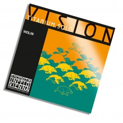 Corda Violino RE (D) Vision Titanium Solo Thomastik tensione media con pallino