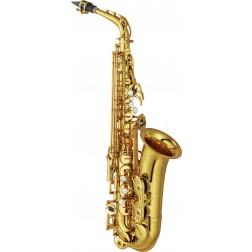 YAS-62 02Yamaha sax alto in Mib laccato