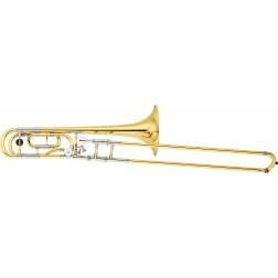 Trombone in Sib/Fa Yamaha YSL-882W laccato