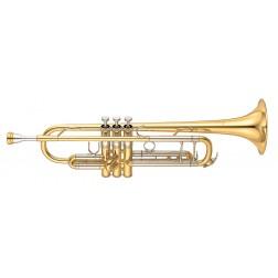 Tromba in Sib Yamaha YTR-8345 laccata trasparente