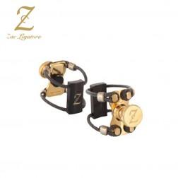 Legatura Zac Ligature ZL-3204 gold wood per clarinetto sib