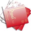 "Corde Viola Dogal linea Rossa R 32A set 14"" - cm 35,5"