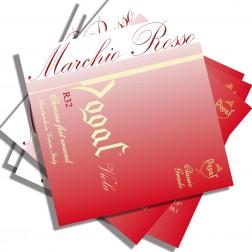 "Corde Viola Dogal linea Rossa R 32B set 13"" - cm 33,5"