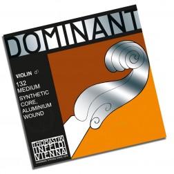 Corda per violino RE Dominat Thomastik tensione media