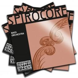 Muta corde per contrabbasso Spirocore Thomastik Infeld tensione media con pallino mod.bass orchestra