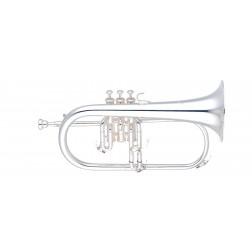 Flicorno soprano in Sib Yamaha YFH-631GS  argentato